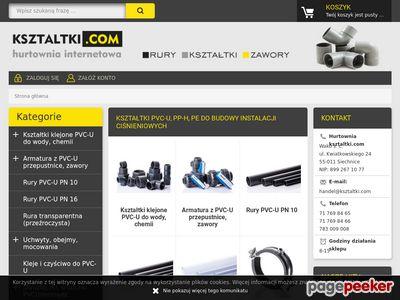Ksztaltki.com: rury, zawory, kleje PVC