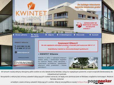 Mieszkania Wilanów - www.kwintet-wilanow.pl