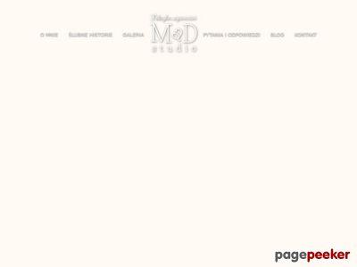 MaD Studio fotografia ślubna