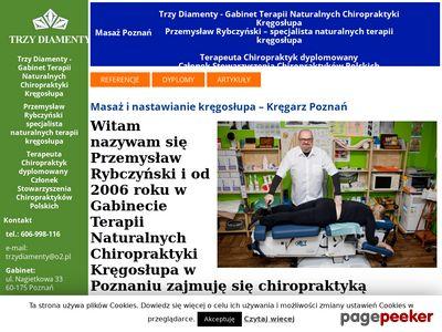 Chiropraktyka- Nastawianie Kręgosłupa - Rybczyński 606998116