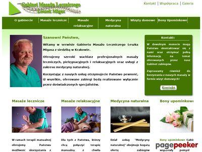 Gabinet Masażu Leczniczego Leszek Migas