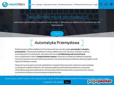 MAWARTECH   Automatyka przemysłowa, bezpieczeństwo maszyn.