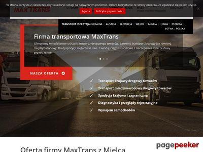 F.T.U.H. MaxTrans - transport i spedycja