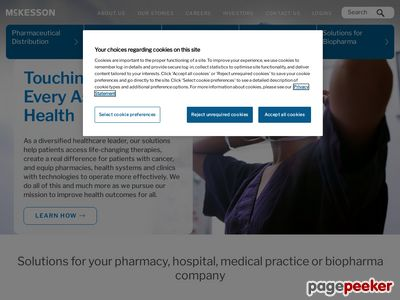 McKesson Corporation Website