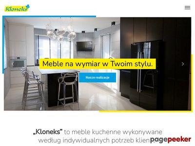 KLONEKS - meble łazienkowe