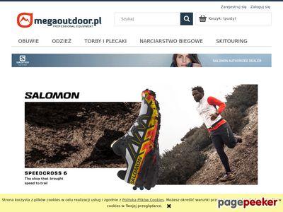 Megaoutdoor - buty do biegania w terenie, sprzęt Salomon