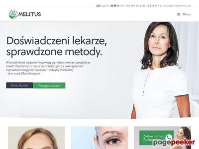 Usuwanie zmarszczek Warszawa - Melitus