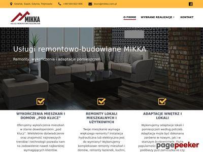 Firma remontowo-budowlana Mikka - remonty Gdańsk