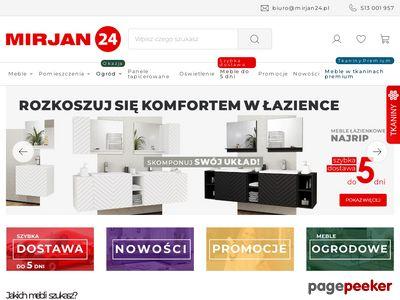 Internetowy sklep meblowy - Mirjan24 - darmowa dostawa
