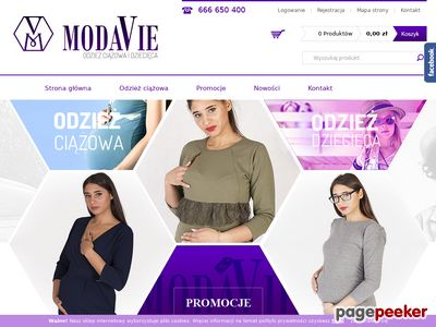 Sukienki ciążowe - ModaVie.pl