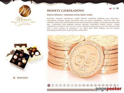 Monety czekoladowe