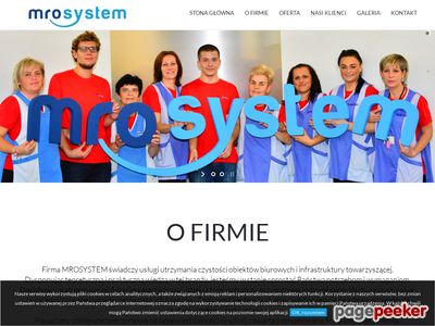 MRO-SYSTEM Usługi Porządkowe