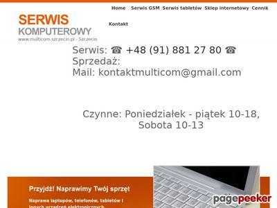 Multicom - Serwis i sprzedaż laptopow gsm tabletow