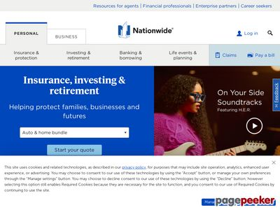Nationwide Mutual Insurance Company Website