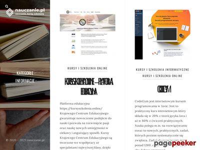 Katalog stron edukacyjnych