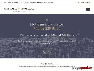 Kancelaria Notarialna Katowice, notariusz Katowice - Kamil Kozina, Michał Michalik s.c