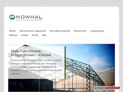 Nowhal - Hale stalowe, Szczecin