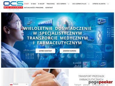Transport w suchym lodzie