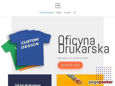 Drukarnia - Śląska Oficyna Drukarska