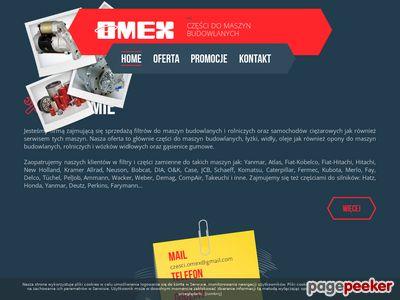Części do maszyn budowlanych - F.H.U. OMEX Marek Kołodziejczyk