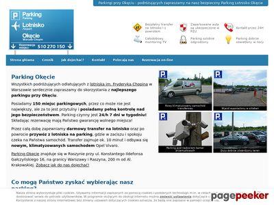 Parking Warszawa Okęcie