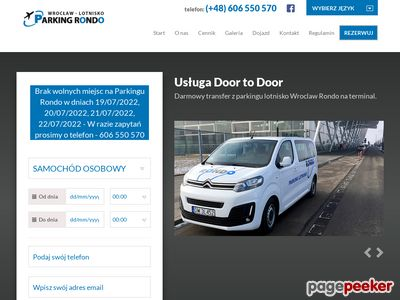 Parking lotnisko Wrocław - parkingrondo.pl