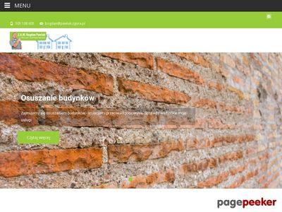 Z. U. W. Bogdan Pawlak osuszanie ścian