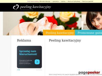 Peeling kawitacyjny - Internetowa Baza Wiedzy