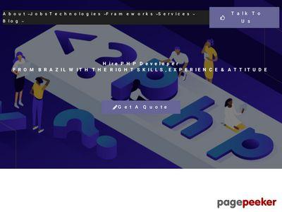 http://www.phpecommercescript.com/ website snapshot