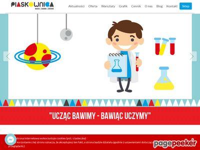 Zajęcia dla dzieci - piaskownica.eu
