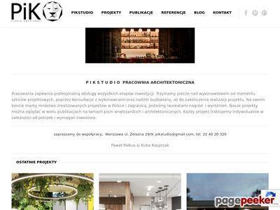 Architektura i aranżacja wnętrz - PIKSTUDIO