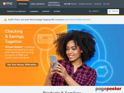 The PNC Financial Services Group Inc. Website