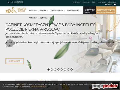 Poczucie Piękna - Gabinet kosmetyczny we Wrocławiu