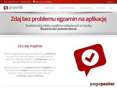 Testy na aplikacje prawnicze online