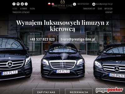 Vip Taxi Gdańsk, VIP transport, Prestige Line