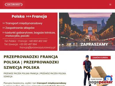 Przewóz osób polska francja