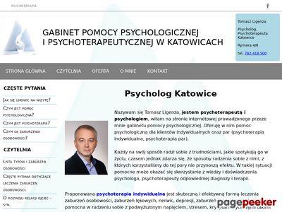 Psycholog i psychoterapia w Katowicach