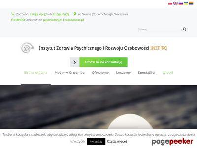 Psycholog Warszawa - INZPiRO