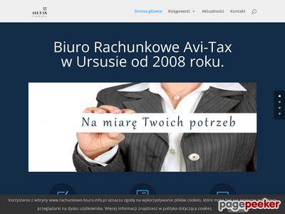 Biuro rachunkowe - AVI-TAX