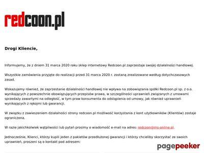 Internetowy sklep RTV i AGD Redcoon.pl