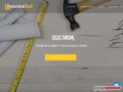 Kosztorysowanie robót budowlanych - renomabud.pl