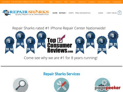 Repair Sharks LLC Website