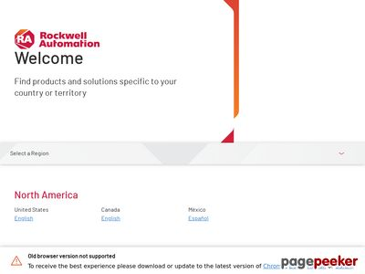 Rockwell Automation Inc. Website