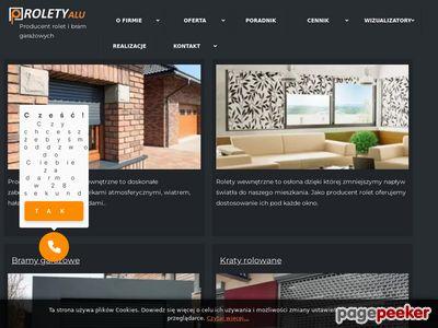 RoletyAlu - rolety wewnętrzne i zewnętrzne