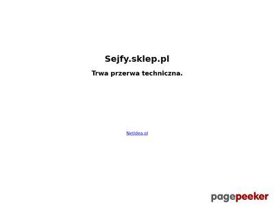 Sklep internetowy - meble metalowe, sejfy, drzwi antywłamaniowe