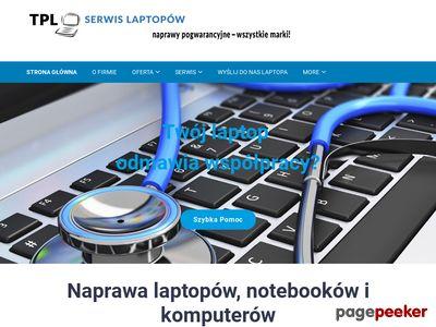 Naprawa popsutych laptopów