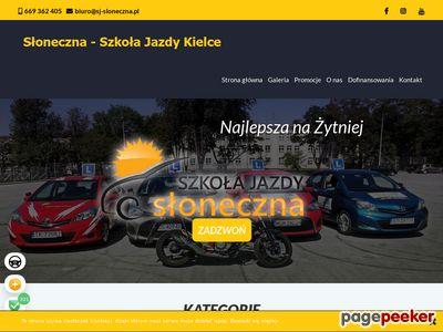 Szkoła Jazdy Słoneczna Kielce
