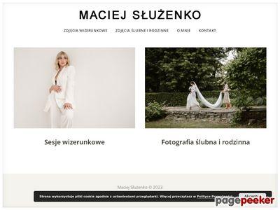 Fotograf ślubny - Maciej Służenko