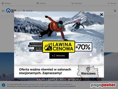 Sklep ze sprzętem narciarskim - SnowShop.pl