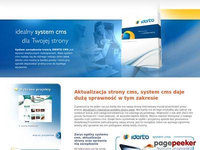 Strony-cms.eu administrowanie stroną cms przez sytem CMS